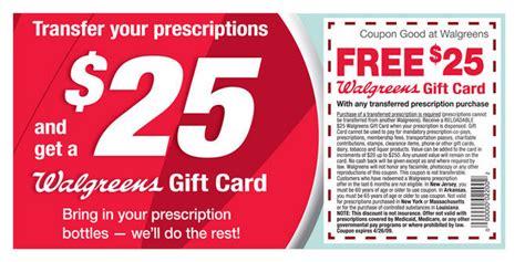 Walgreens Prescription Gift Card - free 25 walgreens gift card with any transferred prescription mamas on a dime