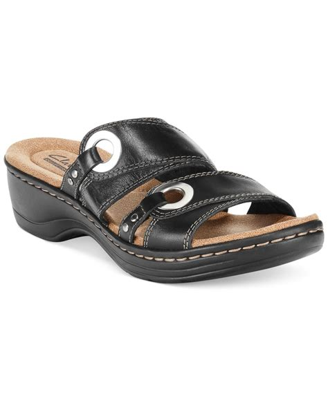 sandals at macys clarks collection s hayla acedia flat sandals only