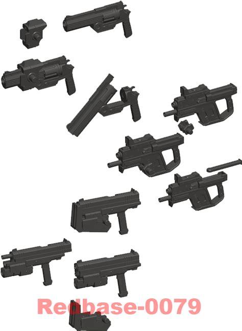 Msg P104r Duct Nozzle kotobukiya m s g msg 24 weapon unit model part handgun