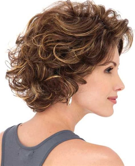 short layer wavy bob hair style 25 short and curly hairstyles short hairstyles 2017