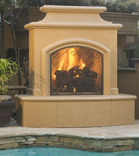 Pre Manufactured Fireplace by Outdoor Fireplaces Desert Fireplaces And Bbq S