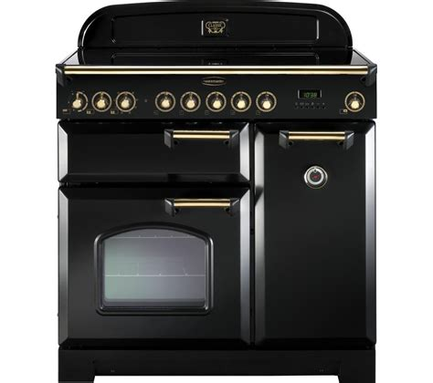 kitchen master induction cooker buy rangemaster classic deluxe 90 electric induction range cooker black brass free