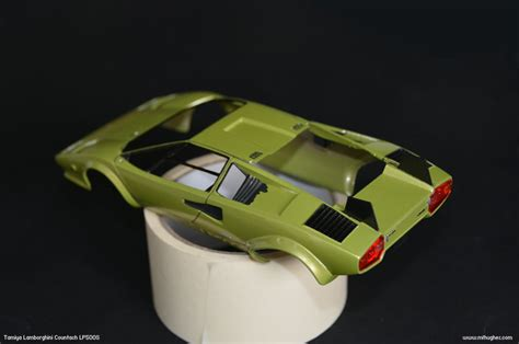 Lamborghini Model Kits Tamiya Lamborghini Countach Lp500s 1 24 Scale Photographs