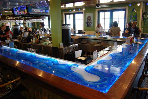 glass bar top glass counter tops artistry in glass mulligans beach