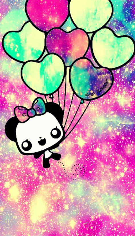 imagenes de fondos kawaii kawaii balloon galaxy wallpaper i created for the app