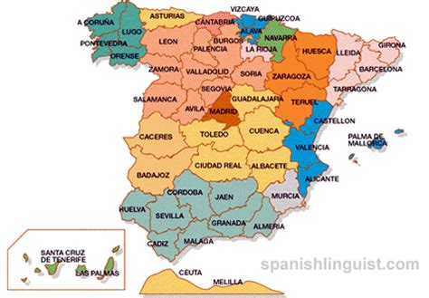 map of spain provinces map of spain provinces images