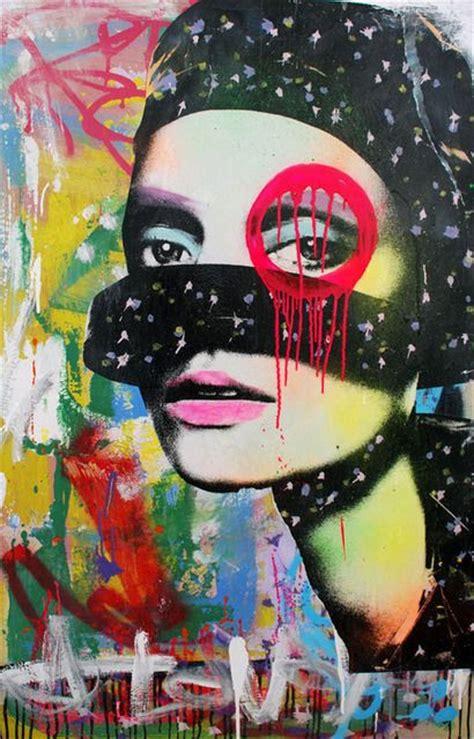 graffiti artist dain artsy  painting