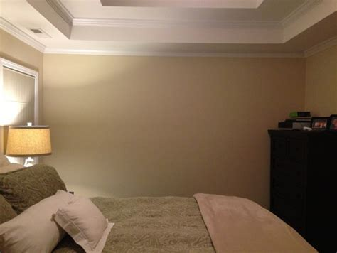 Best Home Interior Paint Colors blank wall in bedroom