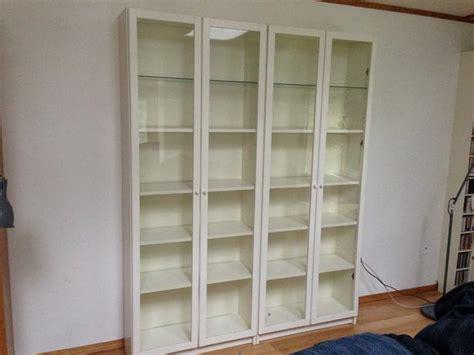 Ikea Billy bookshelves with glass doors Sooke, Victoria