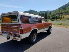 1974 dodge d200 adventurer 4x4 built 360 low 3 4 ton