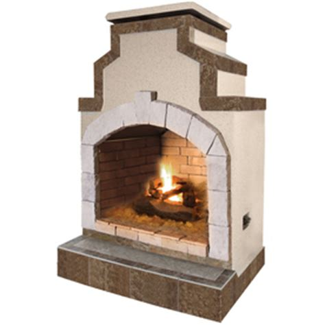 Outdoor Gas Fireplace Lowes by Shop Cal 55 000 Btu Composite Outdoor Liquid