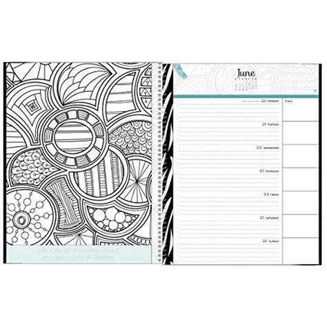 coloring book planner 2016 coloring book calendar designer organizers