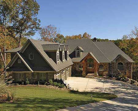 mountain vacation home plans plan 15663ge mountain lodge with options house plans