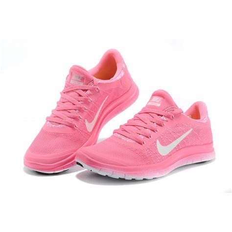 cheap nike free 3 0 v6 s running shoe pink white for