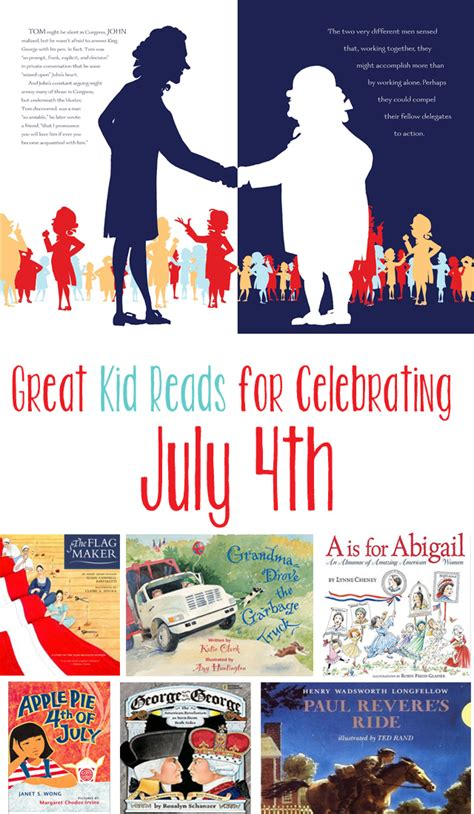 celebrating the 4th of july with children book books for the fourth of july