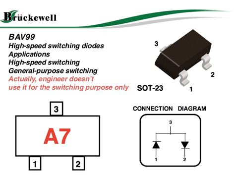 what is the purpose of a switching diode bav99 switching diode applciation