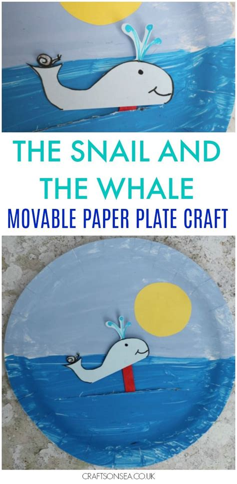 Paper Plate Craft Book - best 25 whale crafts ideas on kinds of whales