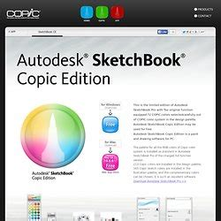 sketchbook pro copic softwares and app pearltrees