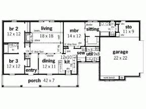 1600 Sq Ft Floor Plans by Eplans Farmhouse House Plan Stone Fireplace 1600