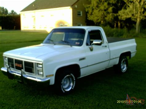 short bed truck cer 1985 gmc short bed pickup