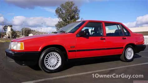 how things work cars 1993 volvo 940 free book repair manuals volvo 940 turbo sedan se classic car 960 760 740 test drive review youtube