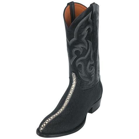 stingray cowboy boots mens s sedona west stingray western boots j toe