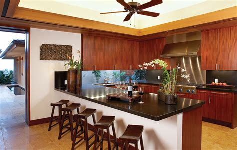 Home Kitchen Design by Luxury Dream Home Design At Hualalai By Ownby Design