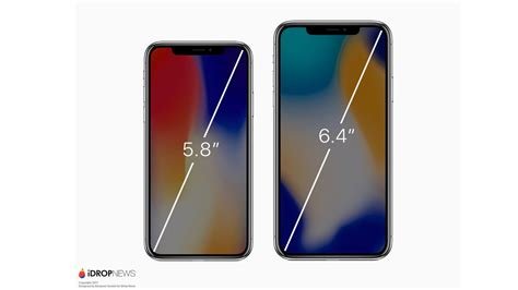 Iphone 10 Inch renders imagine rumored iphone x plus with 6 4 inch