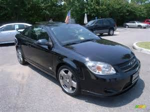 black 2007 chevrolet cobalt ss supercharged coupe exterior