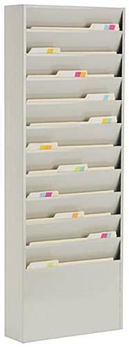 Vertical File Organizer   11 Pockets