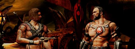 wallpaper erron black mortal kombat x erron black vs kano by mardetonam on