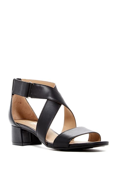 sandal heels for wide naturalizer adele heeled sandal wide width available in