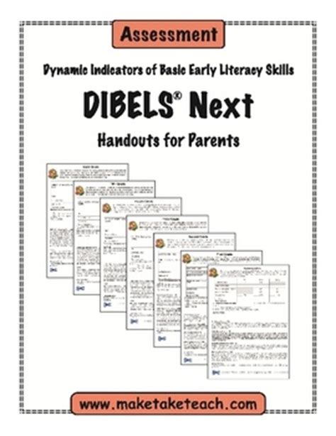 Parent Letter For Dibels Next 20 Best Images About Progress Reports On My