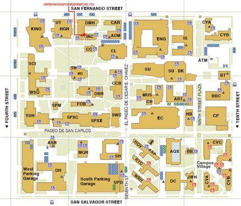 seattle koa map san jose state map of cus 28 images san jose
