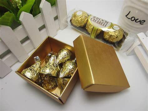 wedding supplies european elegant pearly square shape wedding favor box for