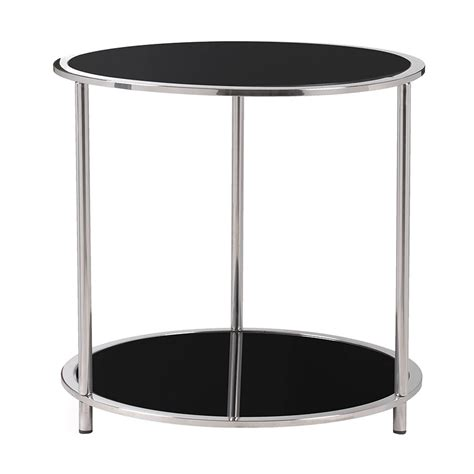 Tempered Glass Costanza costanza contemporary side table collectic home