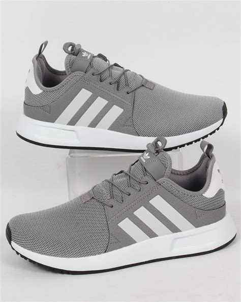 Adidas Grey adidas xplr trainers solid grey white originals shoes