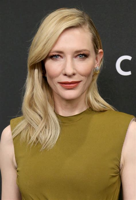 Get The Look Cate Blanchetts Feathered Tresses by Cate Blanchett Wavy Cut Cate Blanchett Looks