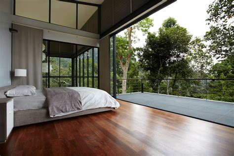Deck Bedroom Design by Luxury Homes Luxurious Forest House In Malaysia
