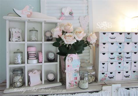 shabby chic craft rooms organization shabby chic craft room with vintage feel