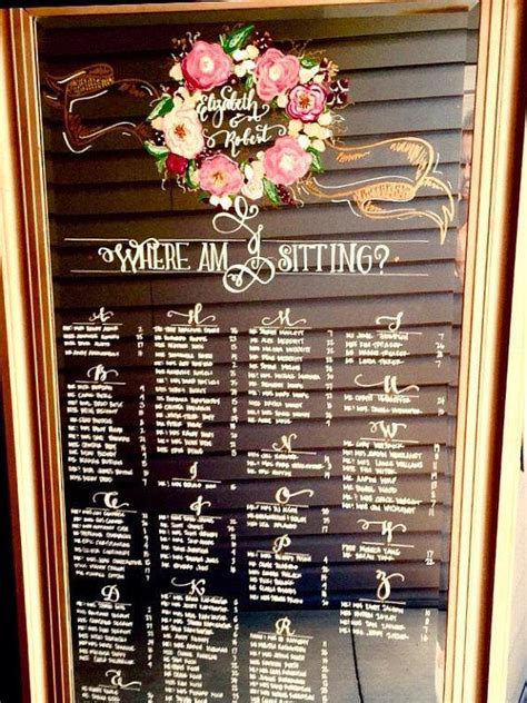 Jewelry Shop Floor Plan by Wedding Mirror Seating Chart Leaning Floor Mirror