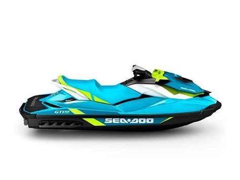 sea doo boat model history sea doo gti se 130 pwc new in new bern nd us boattest