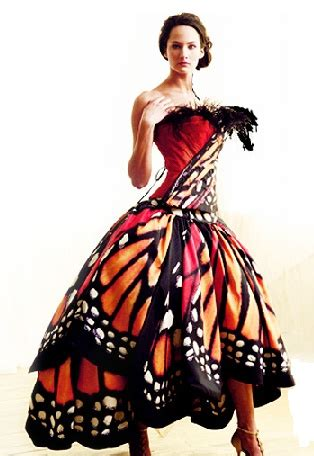 Mcqueen Butterfly Gown by Butterfly Dress By Mcqueen Theatre Costuming