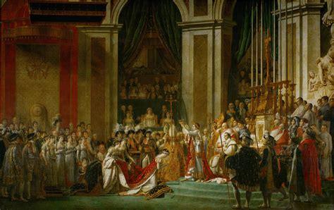 jacques louis david  coronation  napoleon