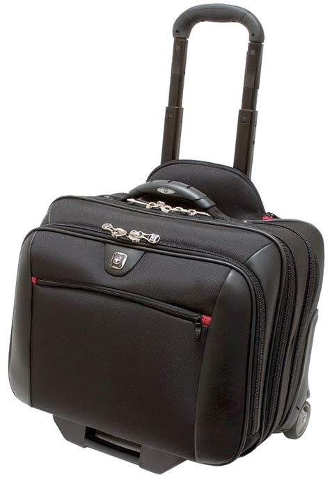 Tas Roda Wheels Bag potomac 17 trolley with laptop bag by wenger ebay