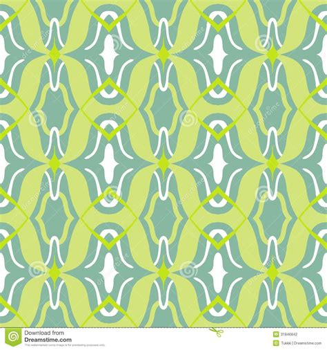 textile pattern website vector arabic pattern in lime and jade green stock
