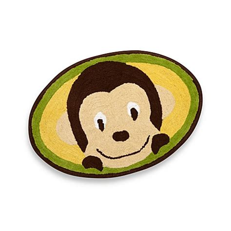 monkey bath rug motion monkey bath rug buybuy baby