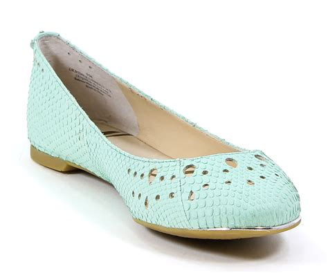 light green flat shoes sam edelman womens leather leighton ballet flat shoes