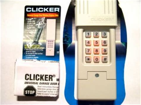 Liftmaster Garage Door Keypad Reset by Clicker Garage Door Opener Keypad Universal Remote Klik2u