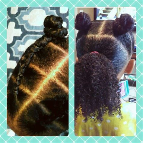 twists in front and loose in back simple curly kids hairstyle part into 3 sections